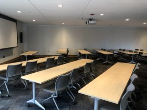 BSC 104 Classroom Style Diagonal Side